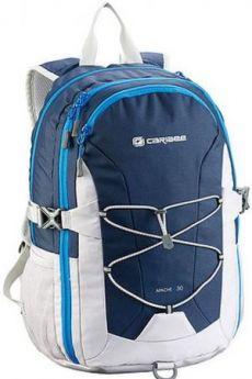 Рюкзак светоотражающие материалы CARIBEE Apache 30 л синий белый
