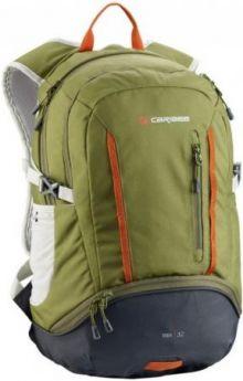 Рюкзак с анатомической спинкой CARIBEE Trek 32 л оливковый черный
