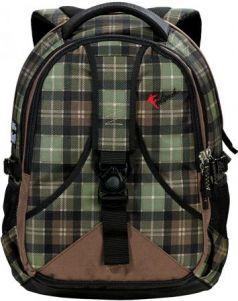Рюкзак FASTBREAK Daypack Клетка 28 л черный зеленый 124101-108