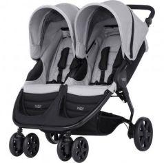 Прогулочная коляска для двоих детей Britax B-Agile Double (steel grey)