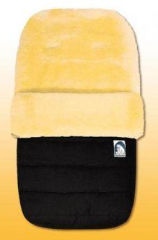 Конверт из овчины Heitmann Felle 968 Lambskin Cosy Toes (черный)
