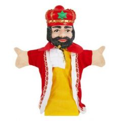 """Кукла на руку Жирафики """"Король"""""""