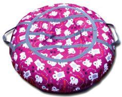 Тюбинг BELON Медведи СВ-003-МР резина текстиль фиолетовый