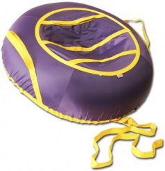 Тюбинг BELON Эконом фиолетовый СВ-004-О/Ф резина текстиль фиолетовый