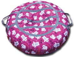 Тюбинг BELON Принт медведи СВ-004-МР резина текстиль разноцветный
