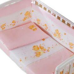 Сменное постельное белье 3 предмета Перина Фея Лето (розовое)