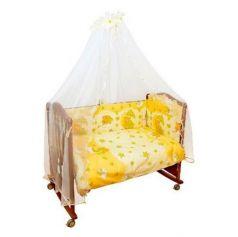Сменное постельное белье 3 предмета Сонный гномик Мишкин сон (бежевый)