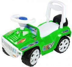 Каталка-машинка Rich Toys Race Mini Formula 1 ОР419к пластик от 10 месяцев на колесах зеленый