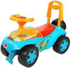 Каталка-машинка R-Toys Ориоша 6695 пластик от 10 месяцев со звуком голубой