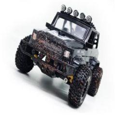 Машинка на радиоуправлении Пламенный мотор Джип Сафари черный от 3 лет пластик, металл