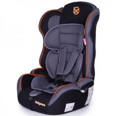 Автокресло Baby Care Upiter Plus (black-orange)