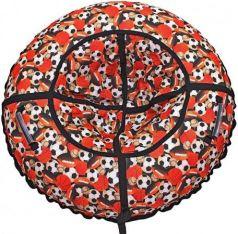 """Тюбинг R-Toys """"Футбольные мячи"""" до 120 кг полипропилен ПВХ рисунок 6790"""