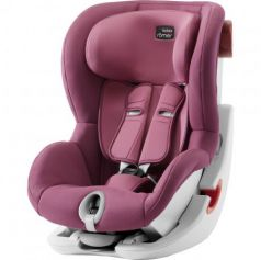 Автокресло Britax Romer King II (wine rose trendline)