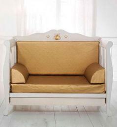 Комплект мягких вставок для кроватки-дивана Baby Expert Elegance (золотой)
