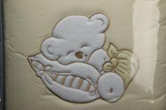 Сменный комплект постельного белья 3 предмета 125х65см Lepre Fantasia (цвет 38 крем)