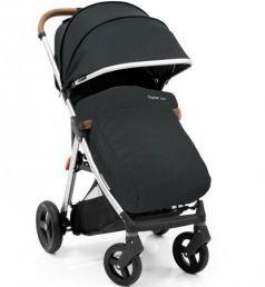 Прогулочная коляска с накидкой на ножки Oyster Zero (ink black)