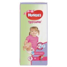 HUGGIES Подгузники-трусики Annapurna Размер 6 16-22кг 44шт для девочек
