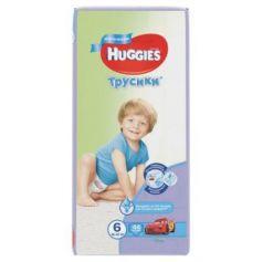 HUGGIES Подгузники-трусики Annapurna Размер 6 16-22кг 44шт для мальчиков