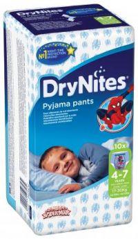 HUGGIES Трусики DryNights для мальчиков 4-7лет 10шт