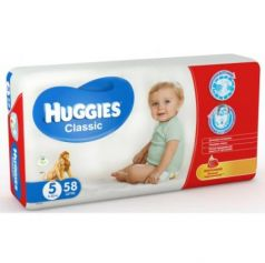 HUGGIES Подгузники CLASSIC Размер 5 11-25кг 58шт