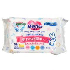 MERRIES Детские влажные салфетки Запасной блок 54шт