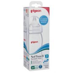PIGEON Бутылочка для кормления Перистальтик Плюс 240мл PP