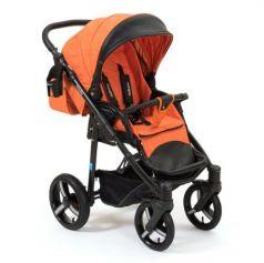 Коляска прогулочная Mr Sandman Traveler Premium (oранжевый - черный/SL16)