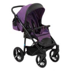 Коляска прогулочная Mr Sandman Traveler Premium (aиолетовый - черный/SL14)