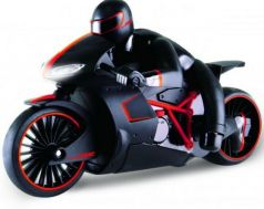 Мотоцикл на радиоуправлении 1toy Мотоцикл с гонщиком красный от 3 лет пластик