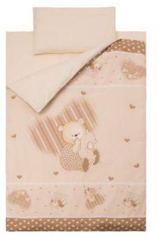 Комплект постельного белья Золотой Гусь Мишутка (бежевый)