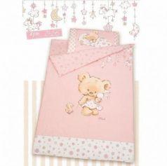 Комплект постельного белья Золотой Гусь Mika (сатин/розовый)