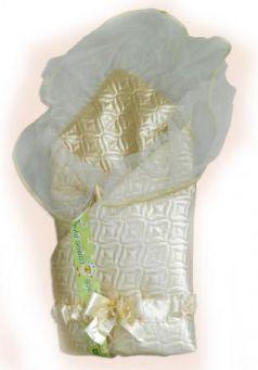 Одеяло на выписку Bombus Мила (зима/бежевый)