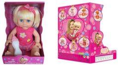 Кукла Defa Диана 35 см с бут., в ассорт., звук, эл.пит.вх.в компл., кор.