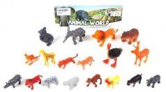 Набор фигурок Мир диких животных, 18 шт., пакет