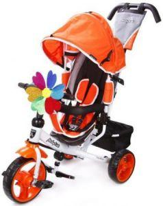Велосипед трехколёсный Moby Kids Comfort EVA 250/200 мм оранжевый 641151
