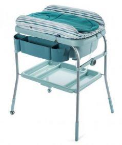 Стол пеленальный с ванночкой Chicco Cuddle & Bubble Comfort (wild)