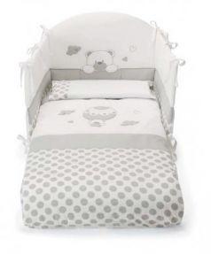 Комплект постельного белья 3 предмета Pali Bonnie (белый)