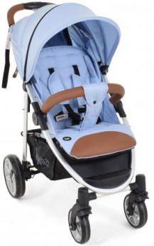 Прогулочная коляска Nuovita Corso (azzurro-argento)