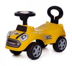 Каталка-машинка Baby Care Speedrunner пластик от 1 года на колесах желтый