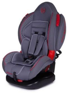 Автокресло Baby Care Polaris Isofix (серый-серый)