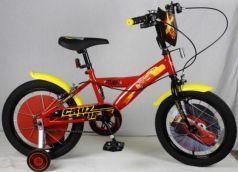 Велосипед двухколёсный Navigator DISNEY Тачки, красно-желтый ВН16123