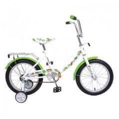 Велосипед двухколёсный Navigator Basic бело-зеленый