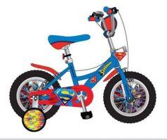Велосипед двухколёсный Navigator Супермен голубой-красный