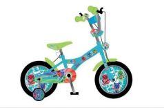 Велосипед двухколёсный Navigator Герои в Масках голубой-зеленый ВН14171