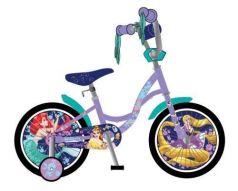 Велосипед двухколёсный Disney Принцессы фиолетовый ВН14165
