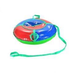 Тюбинг Everflo Snowdrift до 90 кг пластик красный