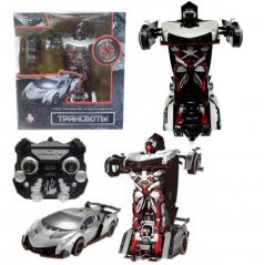 """Робот-трансформер 1Toy """"Трансботы"""" на радиоуправлении Т10856"""