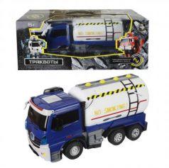 Робот-трансформер 1Toy Трансботы - Грузовик 38 см на радиоуправлении Т11024
