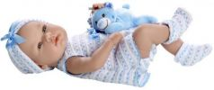 Elegance в голубом костюмчике с игрушкой