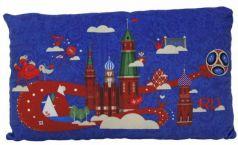 Подушка подушка FIFA подушка с принтом прямоугольная 40 см синий полиэстер
